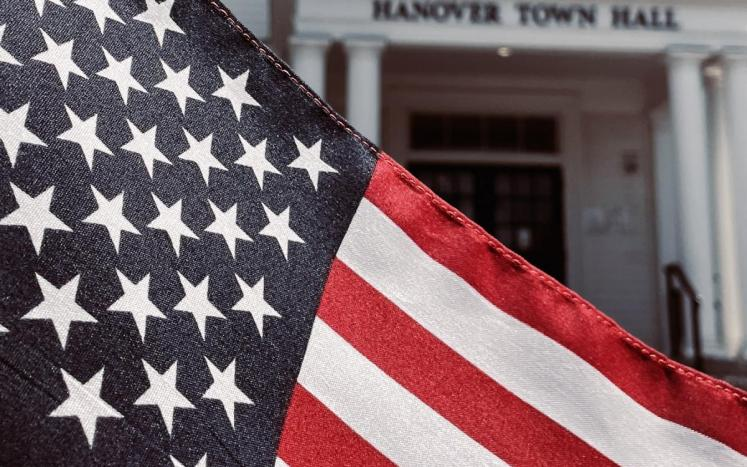 Flag at Town Hall