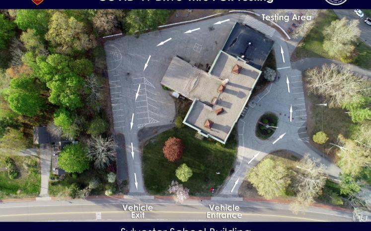 Sylvester School Building COVID-19 Map