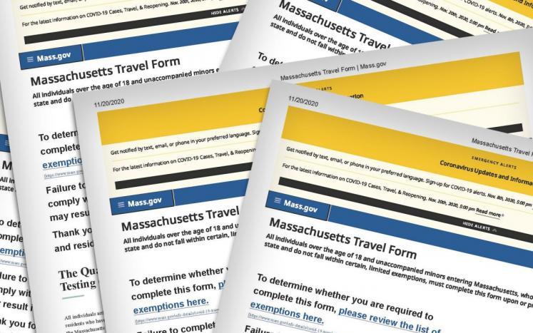 Mass.gov Travel Ban