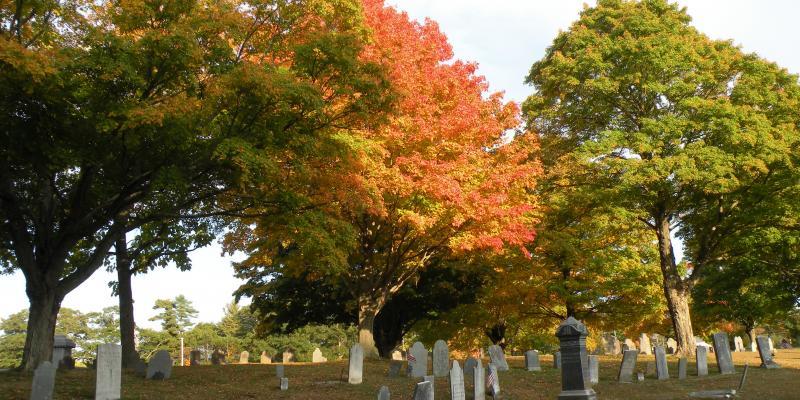Hanover Center Cemetery (photo courtesy of Diane Hallett)