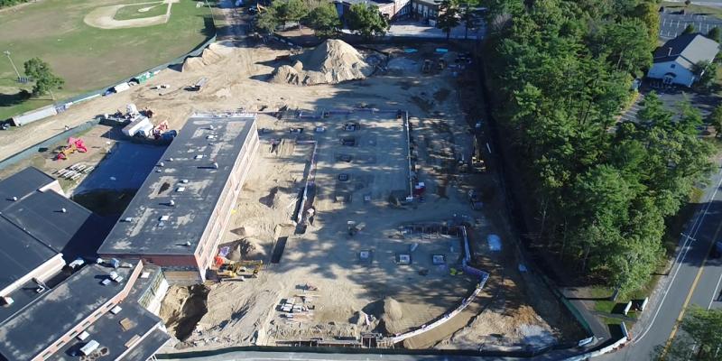 Construction Progress Aerial 9/29/2017